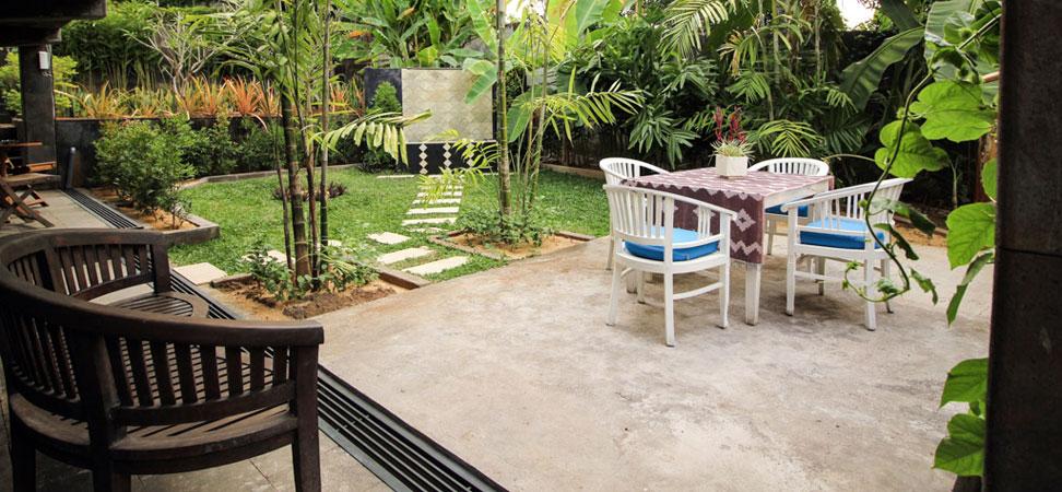 bali lovina villa lemirage villa santai for rent garden