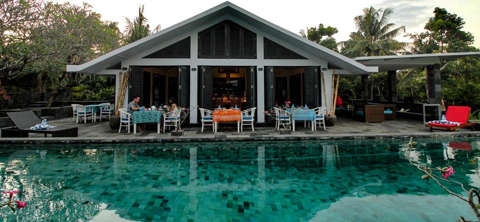 bali lovina villa lemirage villa santai for rent pool terrace