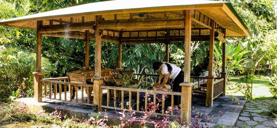 bali lovina villa lemirage villa santai for rent pool massage bale