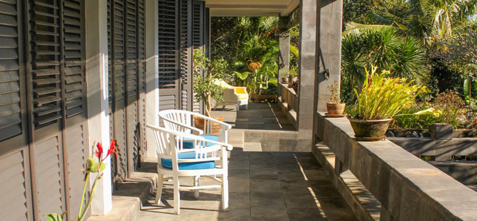 bali lovina villa lemirage villa santai for rent pool view balcony