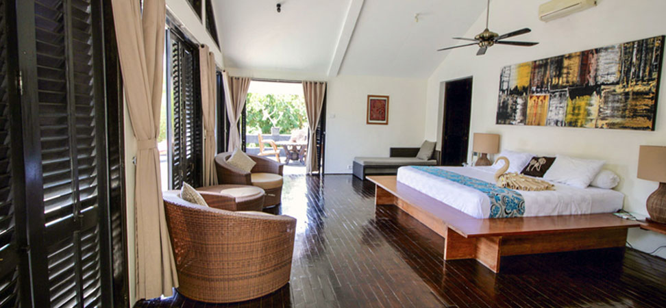 bali lovina villa for rent bedroom
